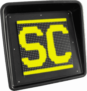 Afficheur LED Drapeau Safety Car