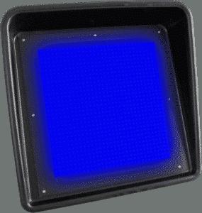 Afficheur LED Drapeau Bleu
