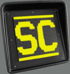 Safety Car Flag LED Display