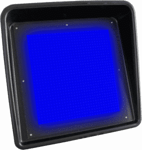 Blue Flag LED Display