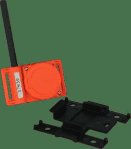 RF Transponder With Folder
