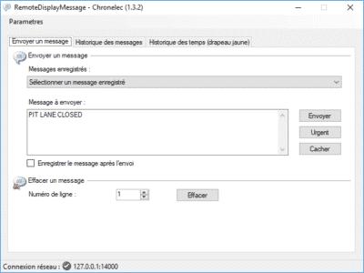 RemoteDisplayMessage Software